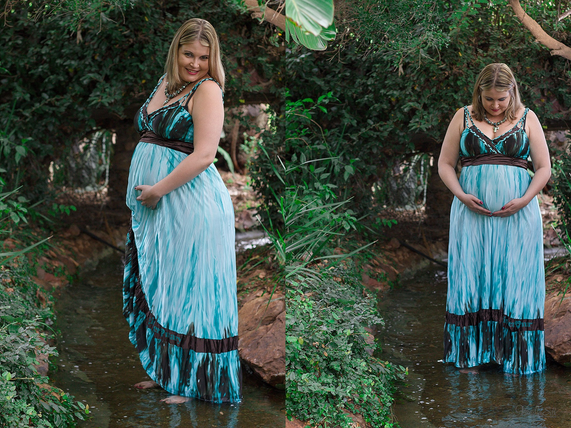 Maternity Photoshoot in river 1