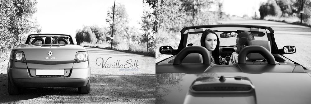 Roadtrip engagement phtoshoot Vanilla Silk
