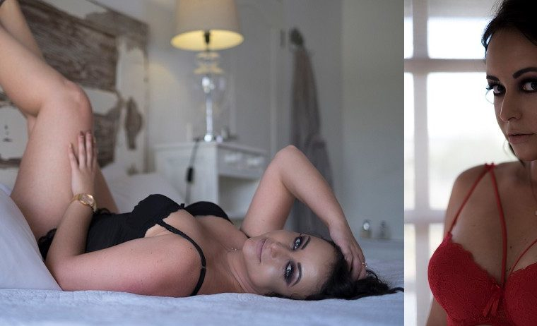 Gorgeous Nadia {The first moody boudoir model call in February}