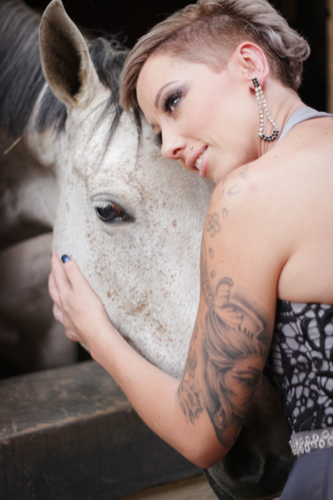 Bonding with horses
