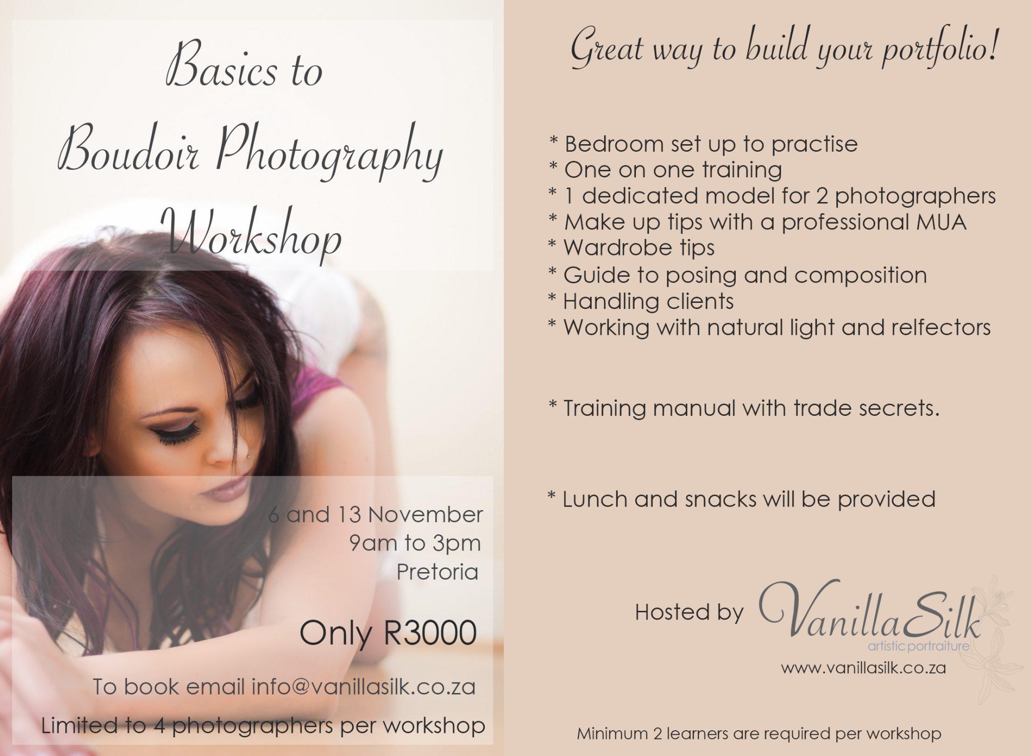 Workshop ad November