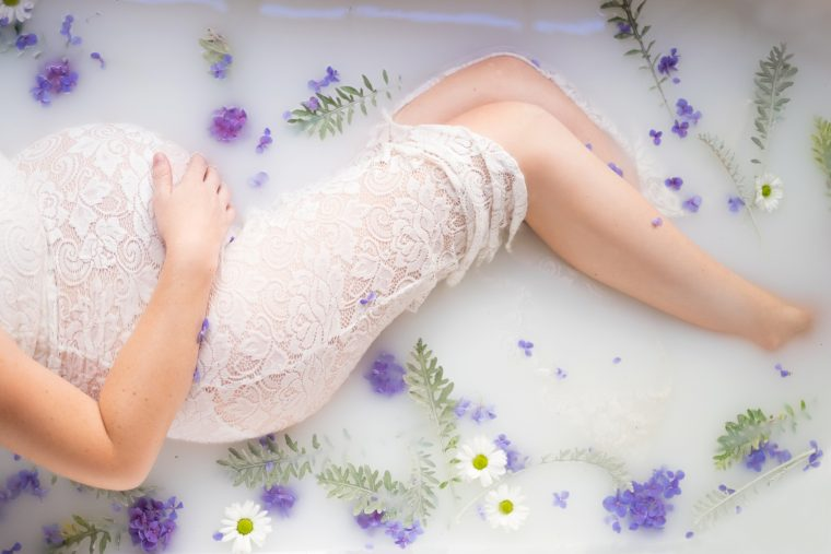 Maternity Milk Bath Boudoir